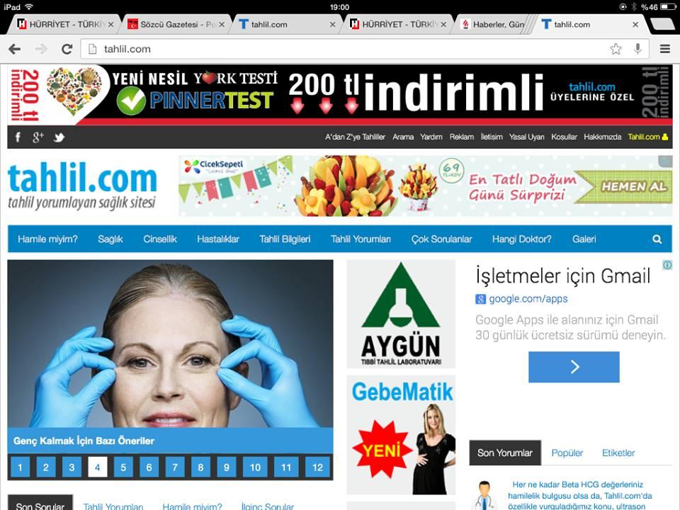 Tahlil.com: Sürekli Güncellenen Sağlık Sitesi