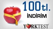 York Testi 100 TL İndirimli Olarak Yaptırabilirsiniz