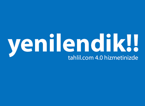 Tahlil.com 4.0 çok yakında....