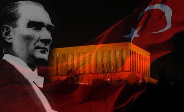 Ulu Önder Mustafa Kemal ATATÜRK'ü 77. Ölüm Yıl dönümünde Saygı ve Özlemle Anıyoruz.