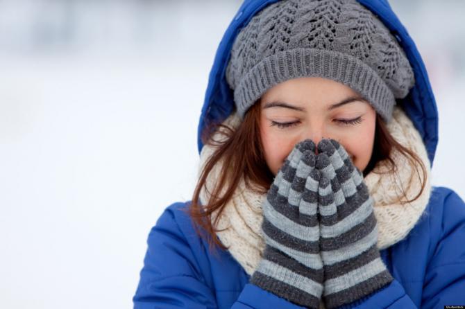 Soğuk Hava Solumayın..Boğaz Sağlığınızı Koruyun!