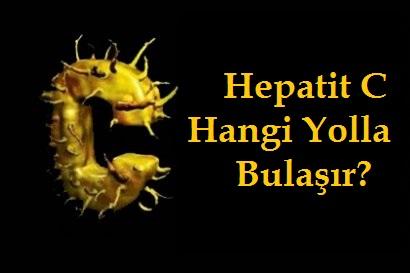 Hepatit C Nasıl Bulaşır?