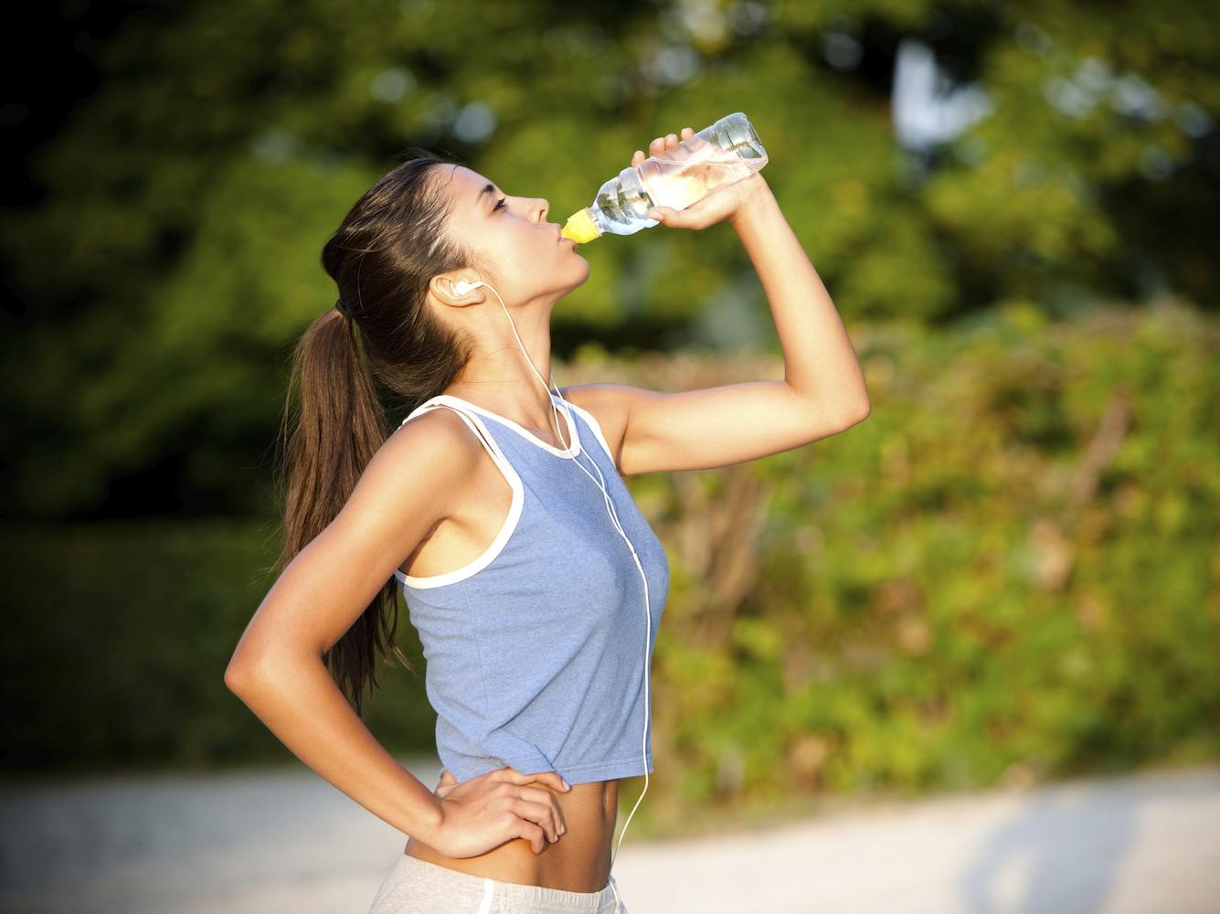 Spor Yaparken Suyu Az İçin