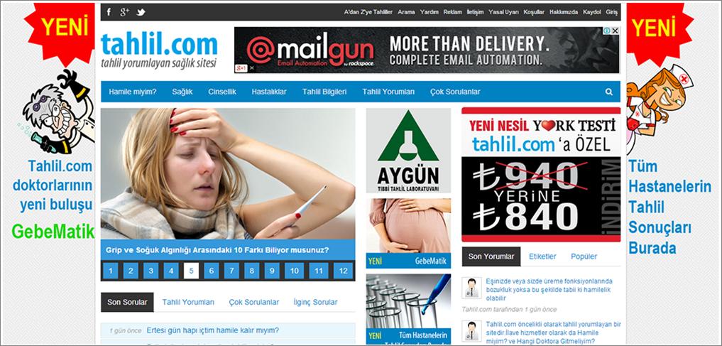 Tahlil.com, Sağlık Siteleri Arasında Hızla Yükseliyor
